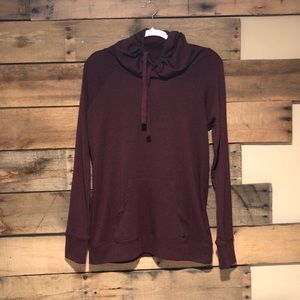 GAIAM slouch neck pullover
